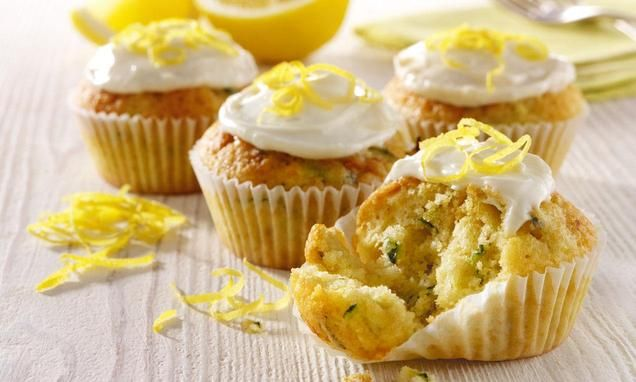 Lemon and Courgette Cupcakes
