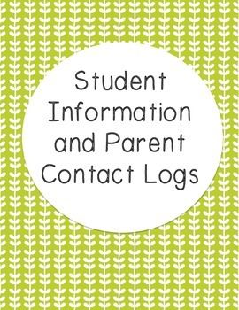 This file contains a sheet for each student to hold all necessary information: Student Name Parent Phone Number Address Allergies Interests Below this information, there is a chart to record parent contact. Name of relative contacted, reason for call, resolution.