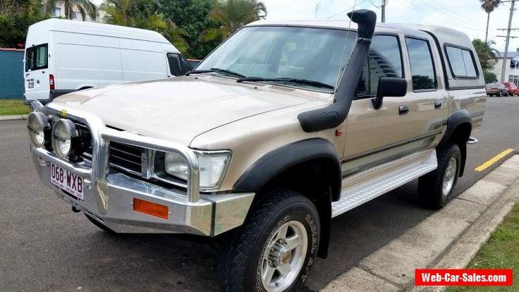 1996 Toyota Hilux SR5 Dual cab 4x4. Excellent Condition. #toyota #hilux #forsale #australia