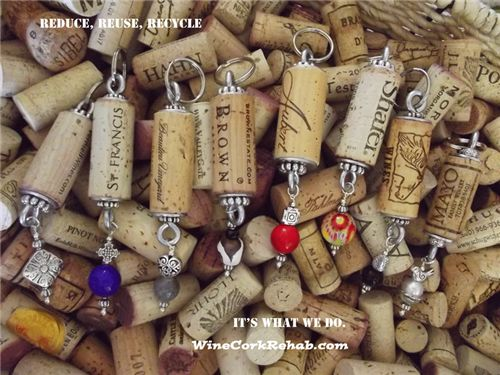 find wine cork rehab key chains in these stores