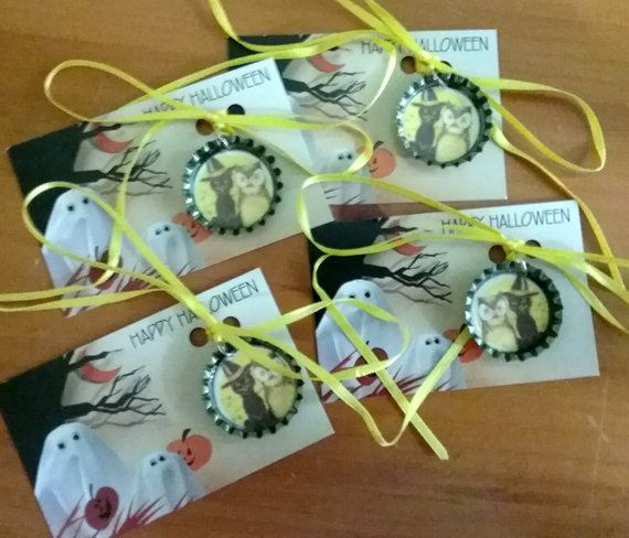 Halloween Necklace Party Favors Set of 4 Halloween Gifts