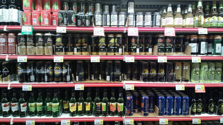 https://flic.kr/p/dt88oL | Finnish cider | Including:     Tin Soldiers, Oiva, Kepplers Premium Irish Cider, Happy Joe, Somersby Apple Cider,     Olvi Aino (named after the traditional women's slipper pattern), Kopparberg Dry Apple, Kopparberg Päärynä Light (pear),  Kopparberg Päärynä (pear),  Kopparberg cloudberry and something Light,  Kopparberg raspberry and mint,  Oiva Skumppa,     Strongbow, Magners, Crowmoor Extra Dry Apple (Crowmoor is a Finnsh brand but successfully marketed to look…