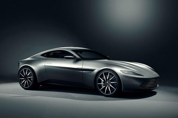 NY STIL: Silhuetten kan minne om dagens sportsbiler fra Aston Martin, men designen er et brudd med stilen vi kjenner fra de fleste Aston-modeller i dag. DB10 er laget spesielt for den kommende James Bond-filmen - Spectre. (Foto: ASTON MARTIN LAGONDA)
