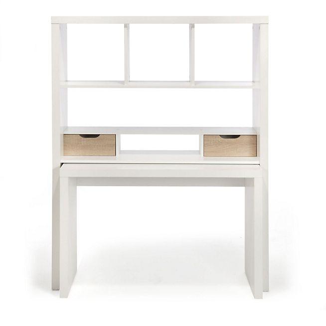 17 meilleures id es propos de bureau modulable sur pinterest table modulable tables. Black Bedroom Furniture Sets. Home Design Ideas