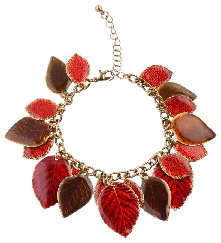 Bijou Brigitte bracelet Autumn Leaves