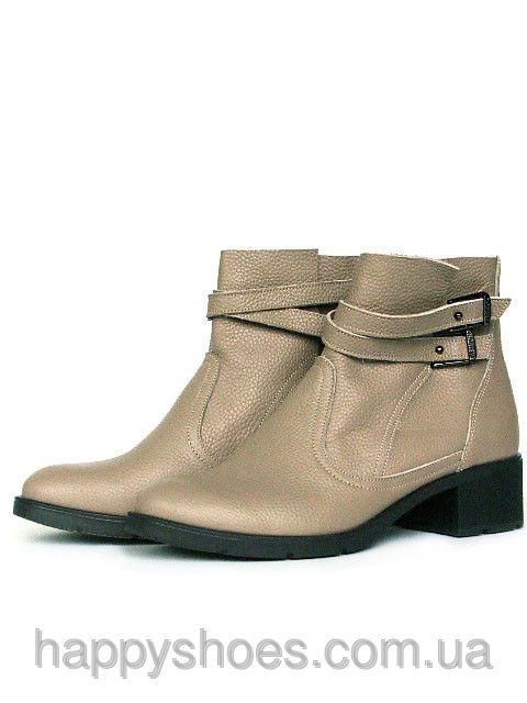 Бежевые ботинки, фото 1