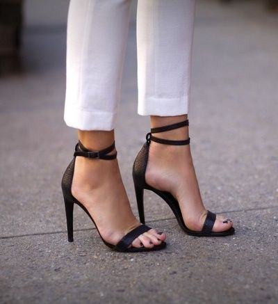 I love these shoes. I have been looking for sleek sexy heels that are timeless and this definitely the pair... I do not want to know the price tho :(