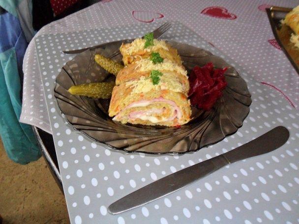 Náš dnešný obed zemiaková roláda (fotorecept) - obrázok 11