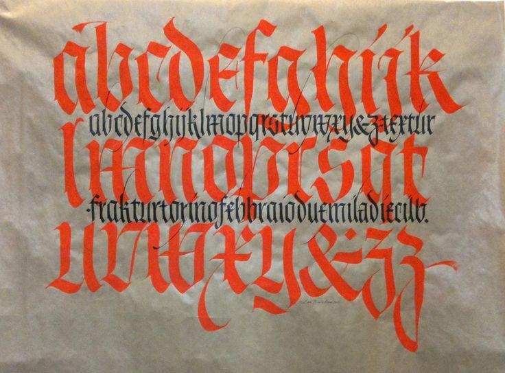 Mont Blanc #calligraphy
