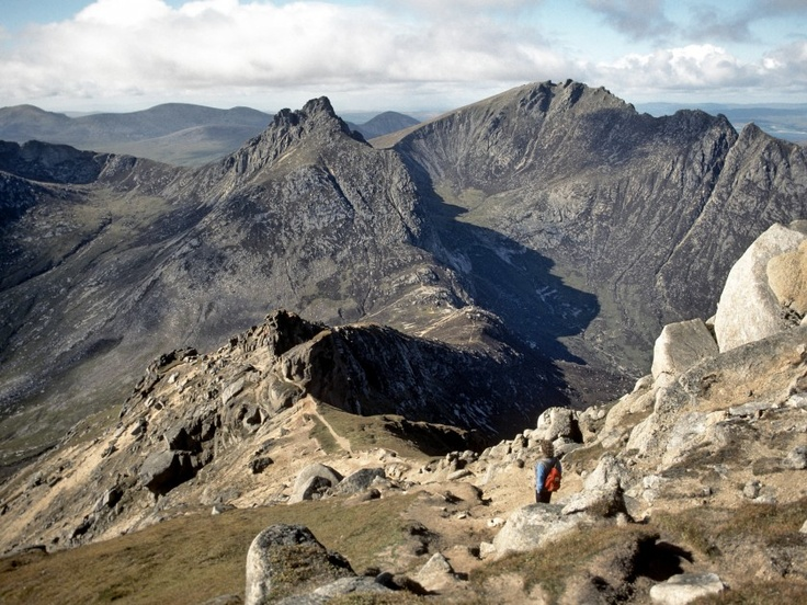 'Isle of Arran' - Simon Harding | Chir Mhor from Goat Fell