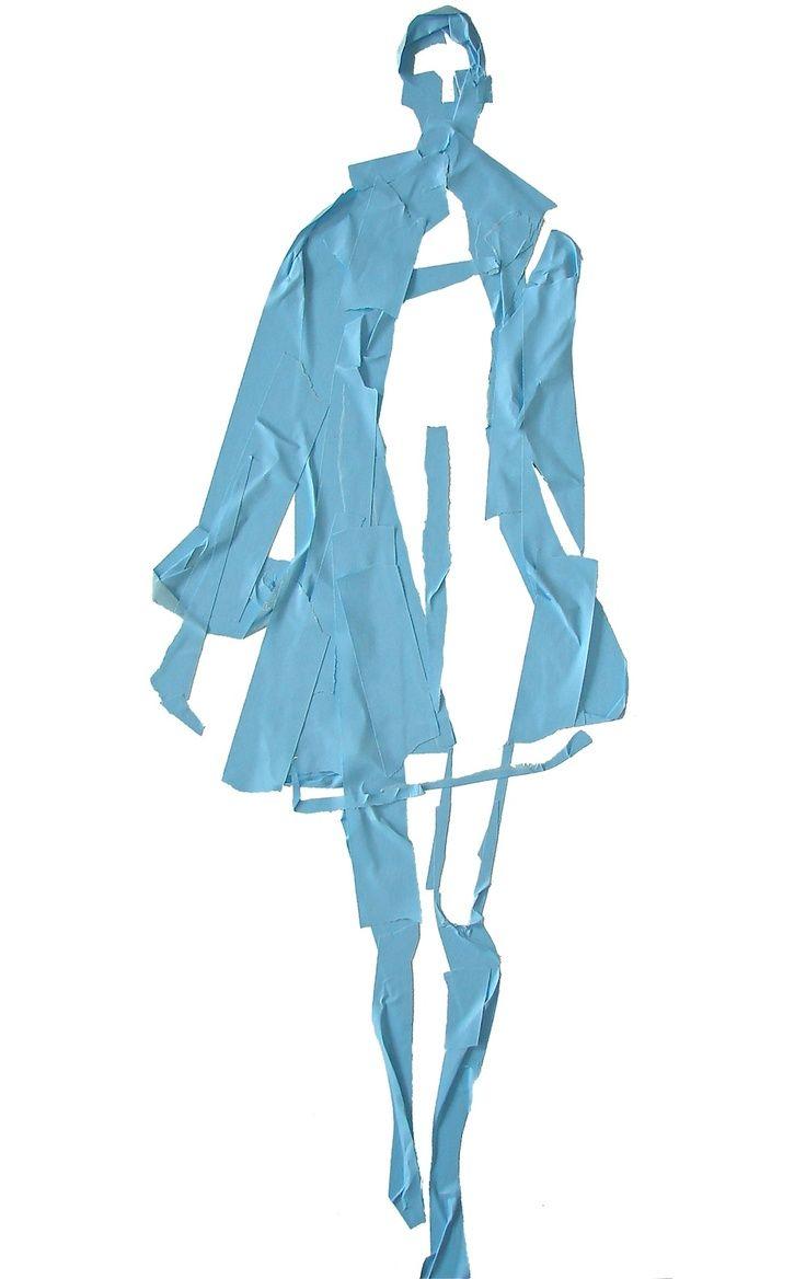 Fashion Illustration By Carlos Aponte.