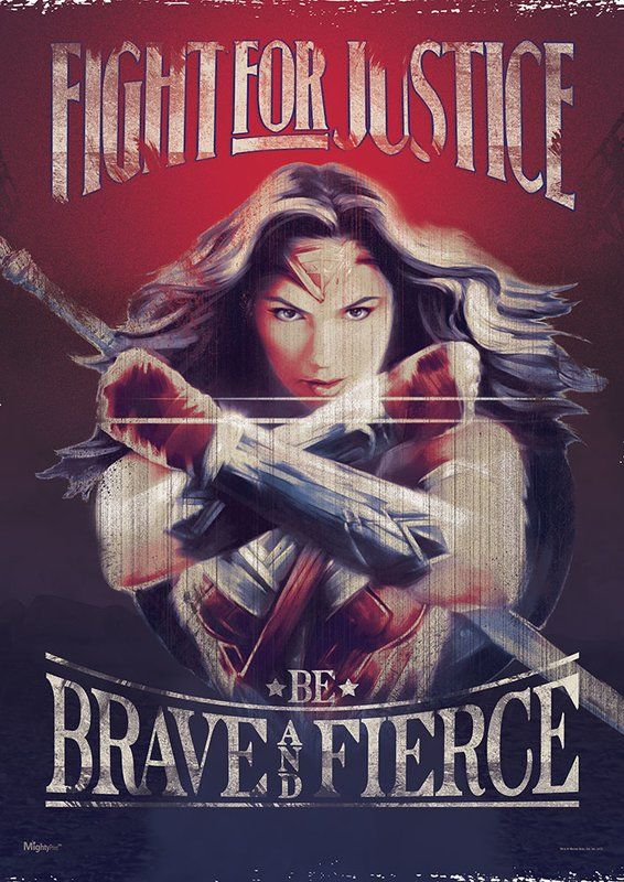 Wonder Woman Fight For Justice Graphic Art Print Affiliate Wonder Woman Wall Art Wonder Woman Movie Wonder Woman