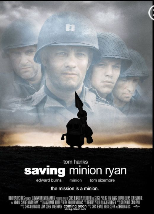 Saving Private Minion | Minions | Pinterest | Movies, Ryan ...