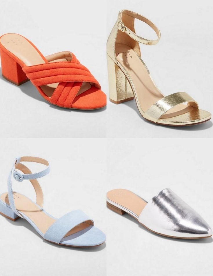 Did You Know that Target's A New Day Collection Includes Wide Width Shoes? http://thecurvyfashionista.com/2018/03/08/target-wide-width-shoes/  Are you looking for a few on trend wide width shoes options? Did you know that Target's new brand, A New Day offers fashion forward wide width shoe options? Yes! And we are sharing our favorite styles!