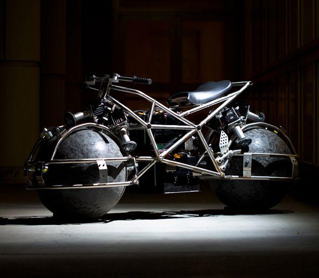 Amazing Electric Motorcycle Powered by Omnidirectional ...
