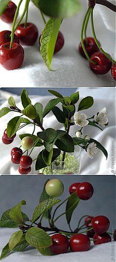 Ветка вишни. ЛЕПКА | Страна Мастеров
