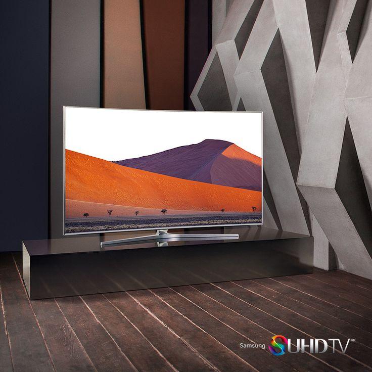 Samsung SUHD TV #samsung #suhd #curved #tv #innovation #technology #gadget #television #premium #design