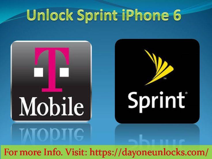 Unlock Sprint iPhone 6