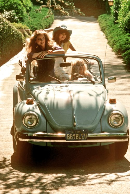 Road tripping in a baby blue beetle---- sooo did this in the 80s... Ocean Beach, CA!!! Those were the days!! :))