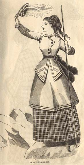 1870 traveling dress: 1870 1879, 1870 Travel, 1870 1880, 1866 1870, 1870 Fashion, 1870 1885, 1870 Tenue, 1870 1890 Bustle Era, 1870 S