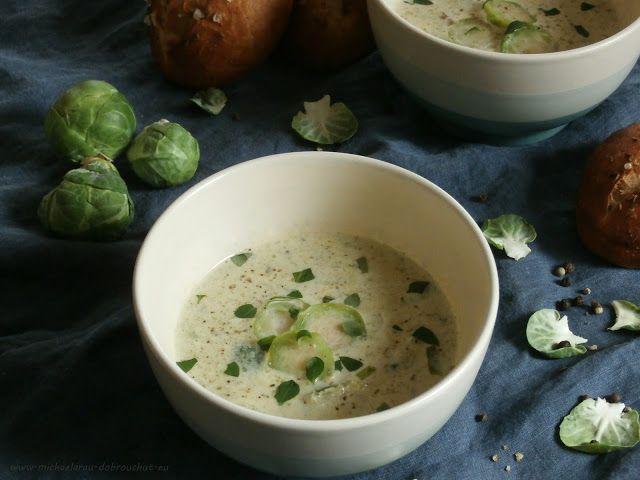 Dobrou chuť: Polévka z růžičkové kapusty