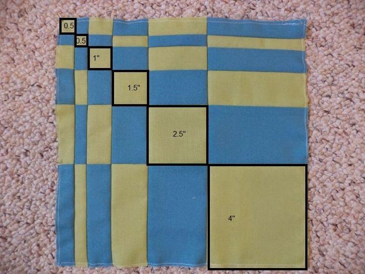 Kat & Cat Quilts: Fibonacci block {do. Good Stitches, July}