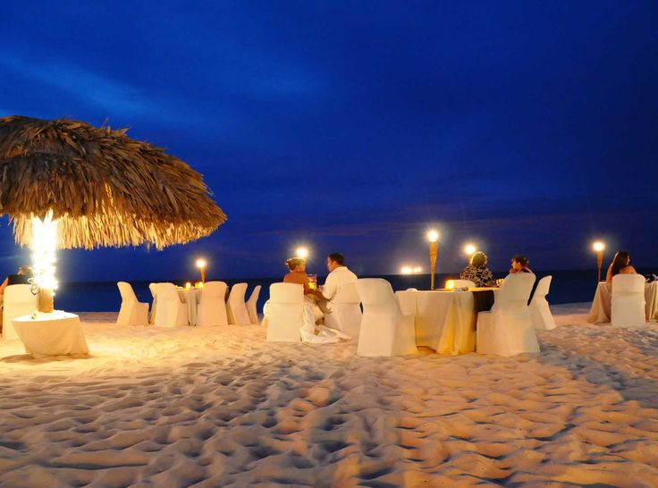 Passions on the Beach restaurant, Aruba - Caribbean
