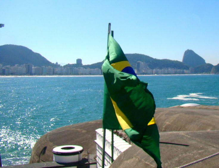 Forte de Copacabana no Rio de Janeiro