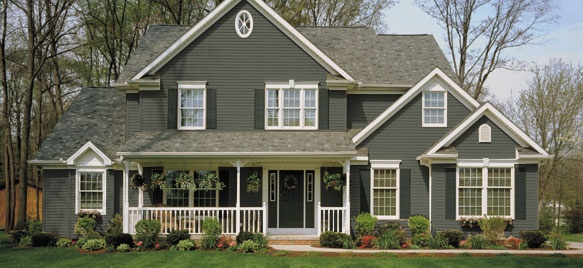 Siding color normal rockwell house colors pinterest for Norman rockwell siding