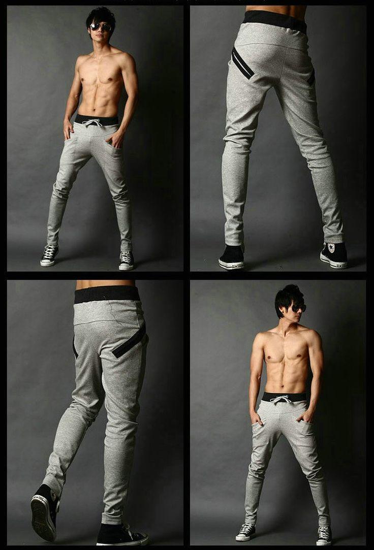 Korean Style Slim Fit Sports Sweatpants