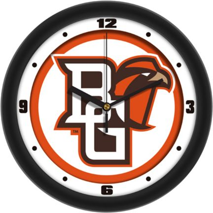 """Bowling Green State Falcons Traditional 12"""" Wall Clock"": Demonstrate your Bowling Green… #SportingGoods #SportsJerseys #SportsEquipment"
