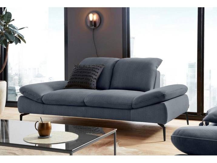 2 5 Sitzer Sofa Mit Sitztiefenverstellung Fusse Schwarz Pulverbeschi In 2020 Sofa Set Online Cushions On Sofa Sofa