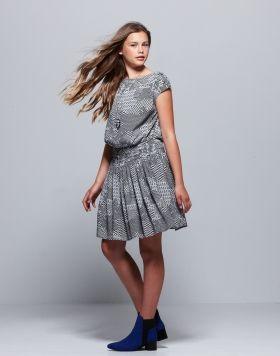 Savannah Dress + Fiona Boot Pavement United Brands
