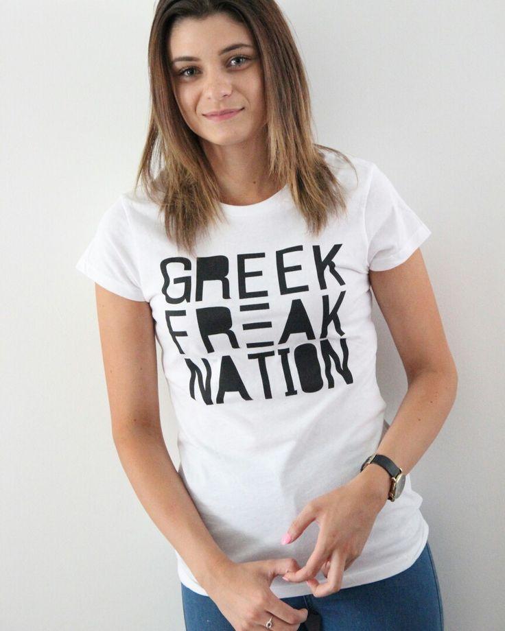 Womans Greek Freak Nation
