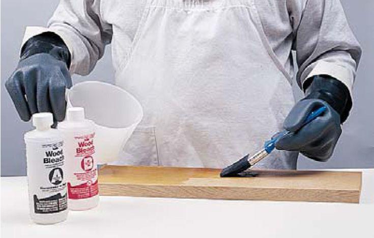 how to bleach wood with oxalic acid