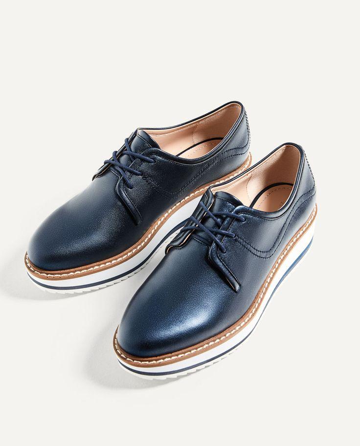 Zapatos Sandalias Zara Brogue Para Mujery Mujer M0ywvpn8no 0P8wknO