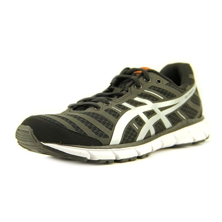 Asics Gel Zaraca 2 Men Round Toe Synthetic Black Running Shoe