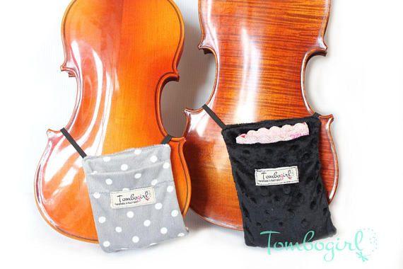 Violin Shoulder Rest & Chin Comforter Adjustable Padding