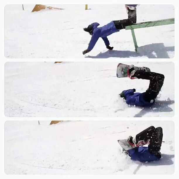 Scorpion snow - Epic fail...oucccch!!! | Snowboard