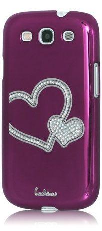 Swarovski Heart Case For Samsung Galaxy S3 #case #galaxys3 #swarovski