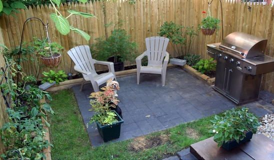 Large 23 Ideas For Small Patio Spaces On Backyard Patio Ideas For Small Spaces: Things To Consider In Planning