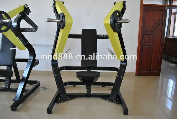 Loaded Plate Fitness /chest Press Gym Body Building Equipment/commercial Fitness Equipment