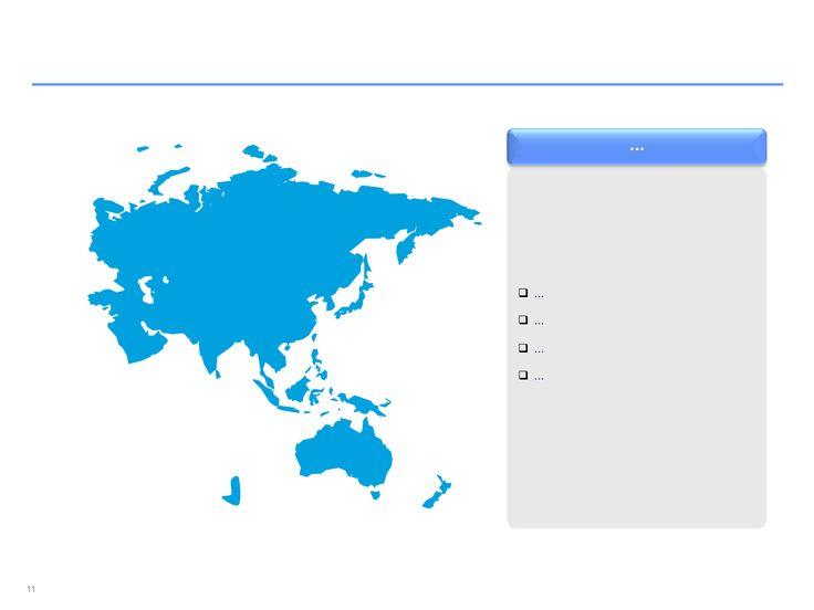 mapa interactivo de Asia Pacífico en Power Point
