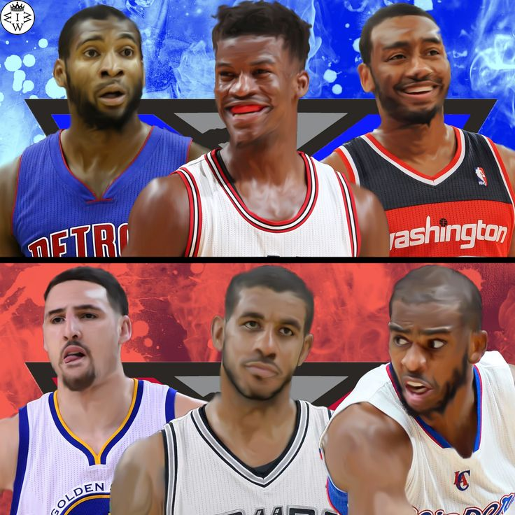 All star reserves edition.  For the east, Andre Drummond, Jimmy Butler, and John Wall... For the west, Klay Thompson, LaMarcus Aldridge, and Chris Paul.  Who Would Win It?