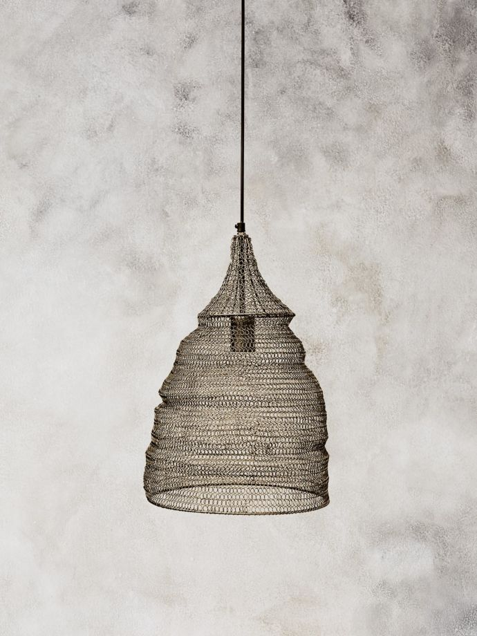 Modern Crochet Pendant Lights Which Have Been Hand Crafted In India Skilled Artisans Wire Pendant Light Pendant Lighting Over Dining Table Metal Pendant Light