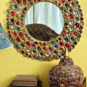 Декор своими руками: зеркало в стиле бохо своими руками