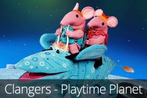 An adorable activity app for young children based on the much-loved, classic TV show, Clangers.