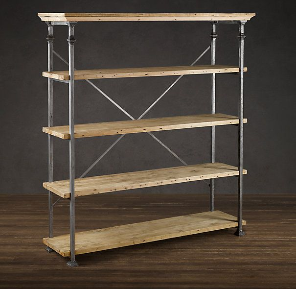 Baker S Rack Mixed Material Shelving Amp Cabinets