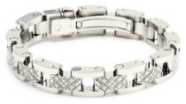 Simmons Jewelry Co. Men's Bracelet, 8.75""