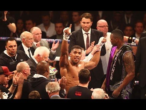 ANTHONY JOSHUA VS CHARLES MARTIN IS OFFICIAL!! FIGHT WILL TAKE PLACE ON...